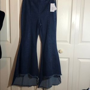 NWT!!! For the republic wide flare jeans
